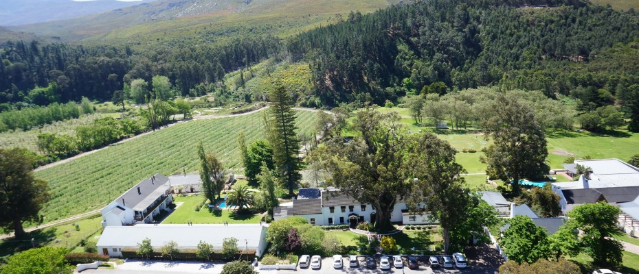 Historical Hotel South Africa - Main Building - Pam Golding Hospitality Partners - Historical 3 Star Country Hotel