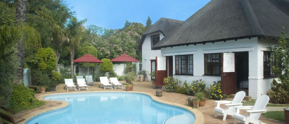 Guesthouse Pool - South Africa - Pam Golding Hospitality Partners - Guesthouse In Stellenbosch Campus