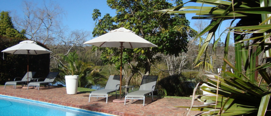 Pool Area - Trendy Five Star Boutique Guest Retreat On 3.2 Hectares Land