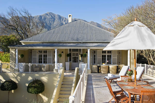 Aug1 - Four Star Self Catering Country Guesthouse Situated in Franschhoek