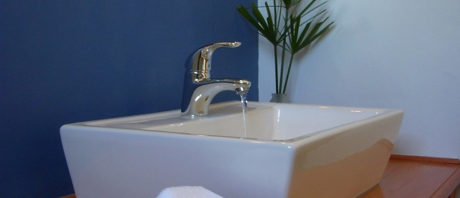 02 comfort garden room bath room - Four-star guesthouse – Montagu