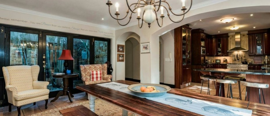 4 - 5-Bedroom House – with Unique Opportunity to Create a 5-star Guesthouse