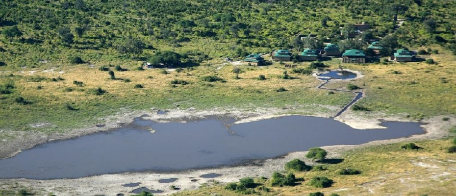 """1 - Copy - Unique Bush Lodge and Camp Site – Northern Botswana – """" The Chobe Enclave """""""
