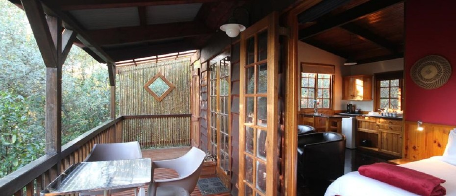 10 - 6 Self-catering Cottages and Owners House – The Crags – Plettenberg Bay -Garden route