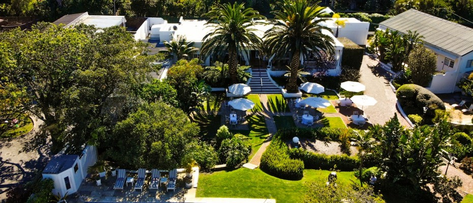created by dji camera - 5 Star Guest Villa – Southern Suburbs Cape town