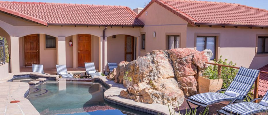 1 (2) - 4 star Guesthouse – Gordon's Bay – 7 guestrooms, spacious 2 bedroom owner's apartment, manager's apartment plus additional room to expand